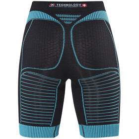 X-Bionic Effektor Power Running Pants Short Women Black/Turquoise